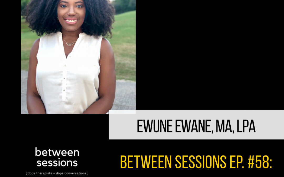 Session 57: Health Disparities with Ewune Ewane